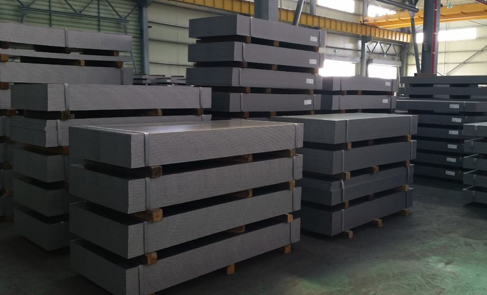 Sheets of cut to length line