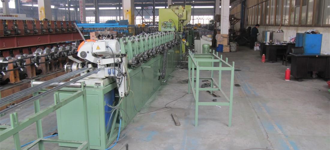 c strut roll forming machine line